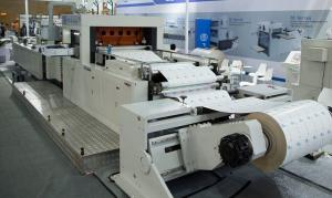 Quality High Pressure Roll Die Cutting Machine FD 1400 * 780 For Hamburger Box for sale