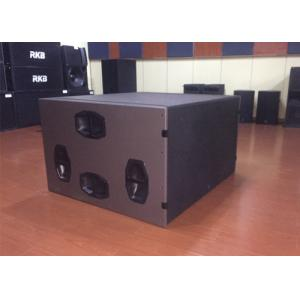China High Power Cardioid Subwoofer Speakers Pro Audio DJ Passive 3600W  21 PA Sub boxes on sale