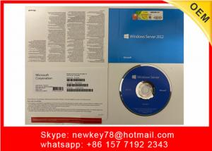 China Microsoft Windows Server 2012 License Key Standard / Datacenter Retail Box on sale