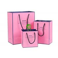 China Art Paper Hair Extension Packaging Bags , Colorful Custom Hair Extension Bags on sale