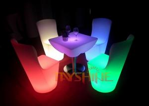 China IP65 Night Club LED Bar Furniture Rechargeable / LED Bar Table with 16 Changing Color on sale