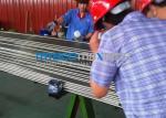 Tuyauterie étirée à froid ASTM A269/A213 9.53mm x d'instrument d'acier inoxydable GTS 22
