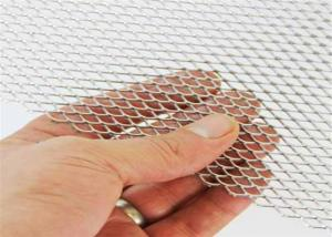 China Galvanized Expanded Diamond Shape Metal Mesh Sheet Rustproof Multipurpose Use on sale