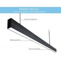 China High End Modern Indoor LED Chandelier Light 110° Beam Angle For Meeting Room on sale