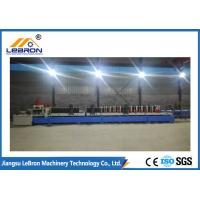 Pre Cutting Later Punching Type Cable Tray Roll Forming Machine Automatic controlled by PLC system