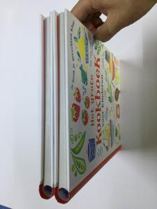 China Round Spine Kids Hardbound Book Printing / Spiral Binding Wire O Book on sale