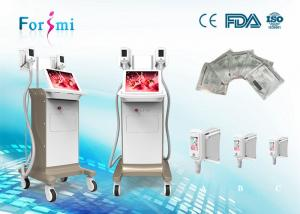 China 4 handle sizes professional cool tech slimming cold lipolysis machine for weight reduction on sale
