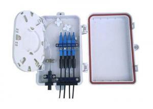China Mini 4F Fiber Distribution Box For FTTH Solution , Outdoor Fiber Optic Accessories on sale