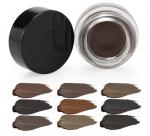 Private Label Mineral Waterproof Eyebrow Pomade OEM 10 Colors