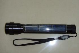 China solar LED flashlight on sale