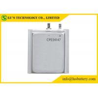 Limno2 Primary Ultra Thin Battery For Radio Alarm Equipment / Sensors CP224147