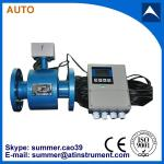 magnetic flow meter with remote control 4-20mA output