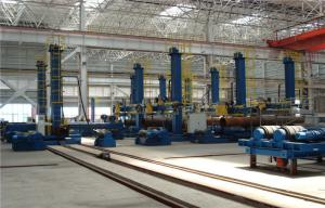 China LH Series Column and Boom Welding Manipulator With Safety Ladder in the Wind Tower Productions Line on sale