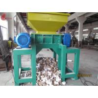 Tire Twin Shaft automatic Plastic Shredding Machine for waste plastics