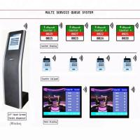 LCD Counter Arabic French English Multilingual Queue Management System For Bank/Hospital/Clinic Service Center