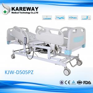 China 5 functions ISO9001 hospital patient bed on sale