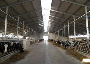 China Wind Resistant Steel Farm Sheds Prefab Farm Buildings For Poultry Easy Assembled on sale