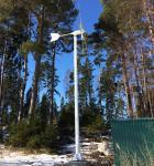 5 Or 3 Blades 3KW Grid - tie Wind Turbine Power System For House  Fully Automatic