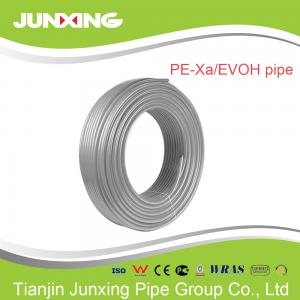 China 25*3.8 PEX-A/evoh oxygen barrier heating floor pipes for water supply on sale