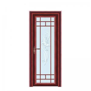China Aluminum Doors And Windows Frosted Glass Inserts Bathroom Doors on sale