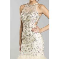 China evening dress sew on crystal ab rhinestones wholesale from China on sale