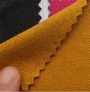 China 平野によって着色されるのどのスエード on sale