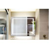 China Smart LED Illuminated Wall Mirrors For Bathroom Low Energy Consumption on sale