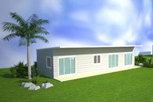 China Multi Function Prefabricated Australian Granny Flats Small Modular apartments on sale