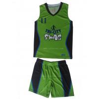 China Sublimation Printing Baketball Uniform, Basketball Jersey and Shorts on sale