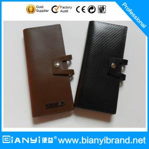 China Newly Exquisite Leather Custom Bank Card Holder on sale