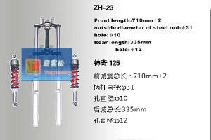 China Motorcycle FORK FR DAMPER for Bajaj 100  , hydraulic vibration dampers on sale