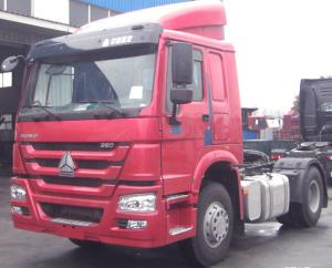 China SINOTRUK HOWO 4 x 2 Right Hand Driving Prime Mover Tractor Trailer Truck Towing Head 371HP,420HP on sale