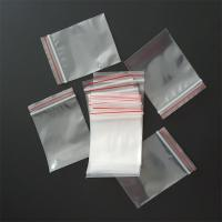 Customized Zip Top Plastic Bags , Ziplock Packing Bags High Durability