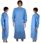 Dressing Disposable Surgical Gown Waterproof For Medical / Industrial Safety