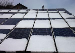China 6 x 12 Mono Cell Solar Panel , Blue / Black Off Grid Solar Panels on sale