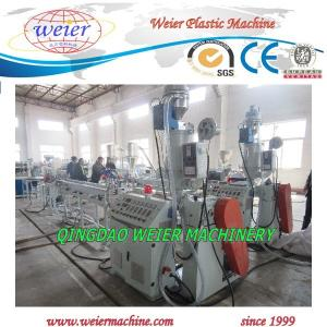 China Single screw extruder 0.5-1.5mm thickness 15m/min 10-45mm width on sale