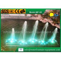 Square Shape Musical Water Fountain Multiple Nozzles Single Conversion 4400W