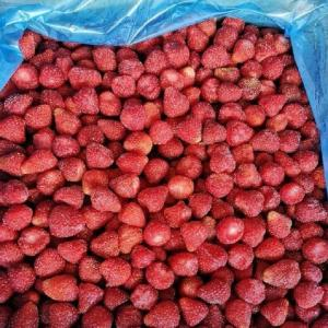 China BRC Certified IQF Frozen Food Fruits 100% IQF Strawberry No Added Sugar on sale
