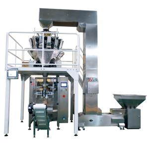 China 30~120Bag/min Multihead Weigher Vertical Packaging Machine / VFFS Packing Machine on sale