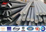 China Single Circuit GR50 Steel Utility Pole AWS D1.1 Hot Dip Galvanized 220kV wholesale