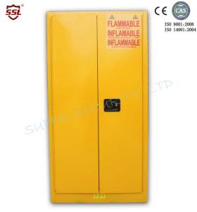 Quality Double Wall Locking Metal Chemical Storage Cabinet Built-In Flash Arresters for for sale