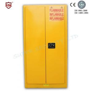 Quality Double Wall Locking Metal Chemical Storage Cabinet Built-In Flash Arresters for SSM100060P for sale