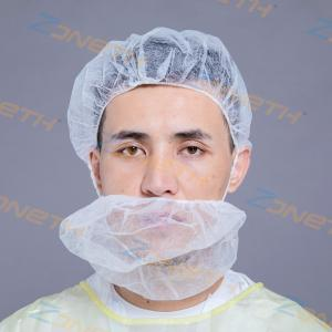 China GB Non Woven Disposable EO Gas Hair Net For Beard on sale