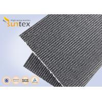 Heat Retardant High Temperature Fiberglass Cloth 2250g Graphite Coated Turbine Blankets