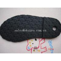 Wear resistant TPR rubber boot sole / shoe outsole sheet , heart pattern