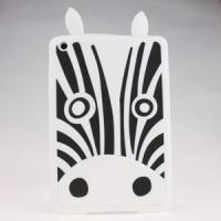 2013 hot selling Silicone cell phone case for ipad mini with zebra desgin