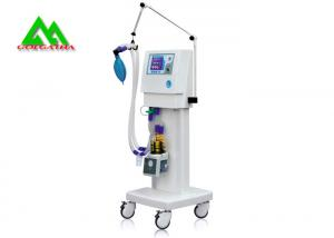 China Mobile Operating Room Equipment Trolley Hospital ICU Electrical Ventilator on sale