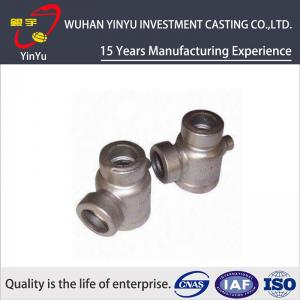 China Durable 316 / 304 Stainless Steel Pipe Fittings Lost Wax Investment Casting Process on sale