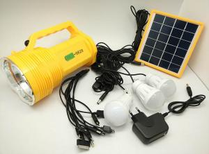 China BN-9828 Rechargeable Solar Panel LED Torch Solar System on sale