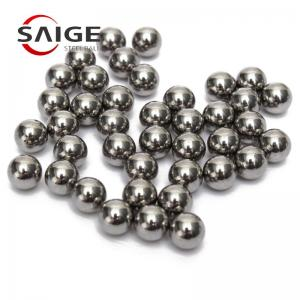 China Low Carbon Steel Grinding Media Steel Balls 8.5mm G1000 AISI 1010/1015 on sale